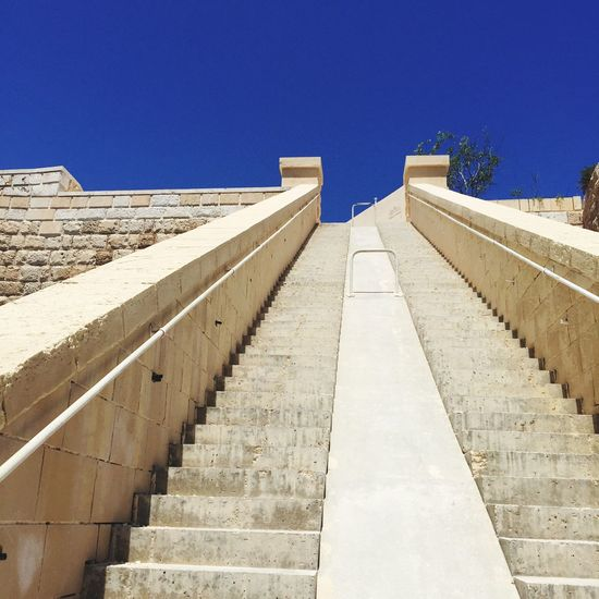 Stairs to heaven Stairs Heaven Blue Sky Stair Malta Summervacation Summer Resort