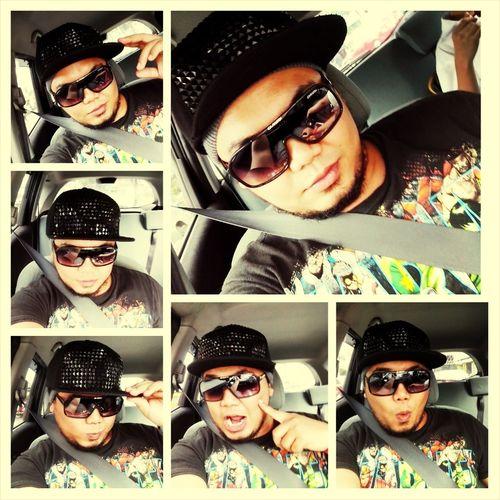Selfie Sunglasses Cap Sitbelt