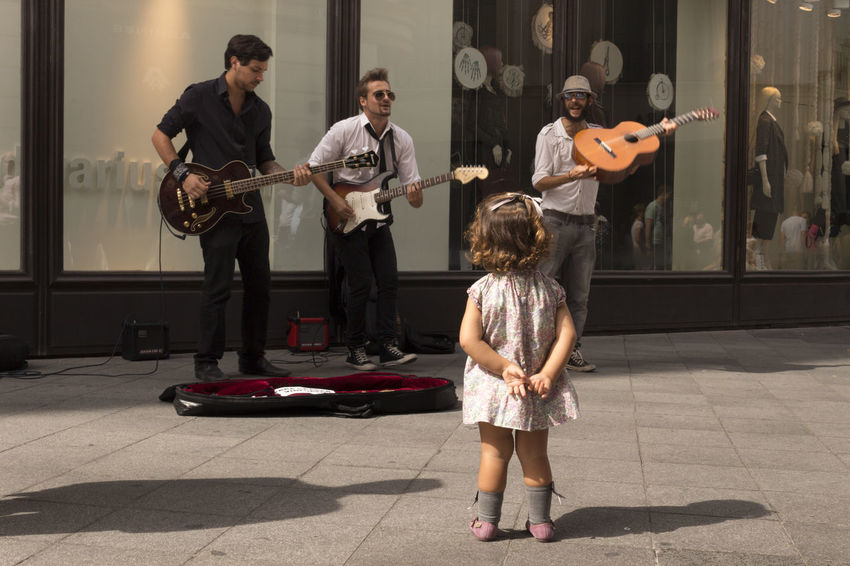 Calle Sierpes - october2015 || Music Children Streetperformer Citybycity Eye Em Around The World Sevilla SPAIN