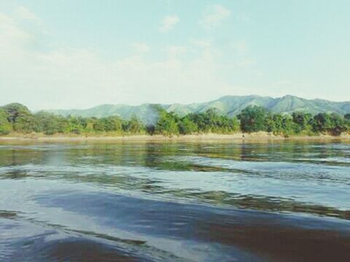 Day Blue Sky Mountain Range Rio Magdalena River Nature Outdoors Colombia Landscape Tranquility Beauty In Nature Tranquil Scene Mountain EyeEmNewHere