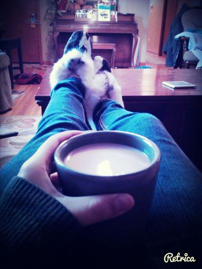 Winter Morning Coffee Baby Its Cold Outside