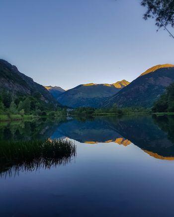 Embalse de Cardet Reflection Mountain Water Mountain Range Landscape Beauty In Nature Tranquil Scene Barruera