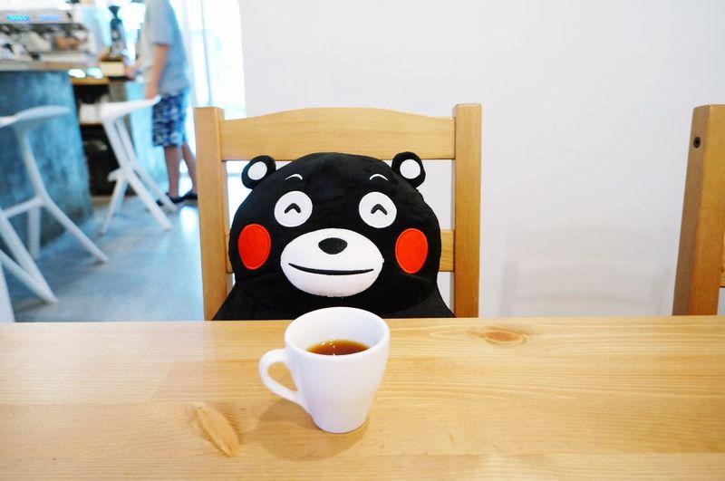 Coffee Coffee Time Cafe KUMAMON Guangzhou Afternoon Tea China UFO-Unseen Foodie Organization