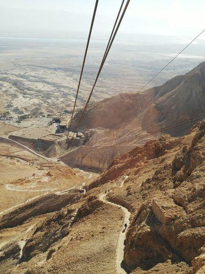 Masada Cablecar Cablecarview Israel