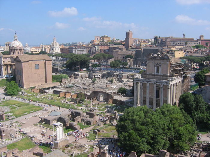 Ancient Spring Sunny Day Archeological Site People Around  Palatino Travel Destinations ıtaly Antiques Day History Outdoors Palatinus Of Rome Italy Ruined Building Sky Tree Archaeology Civilization Roman Ancient Rome Ancient Civilization Historic Ancient History