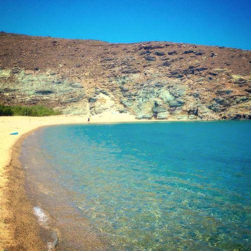 no filter #puremagic Water Clear Sky Hot Spring Tree Sky Landscape Shore Sandy Beach Calm Beach First Eyeem Photo