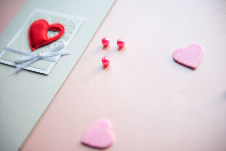 Celebration Love Romantic Valentine Valentine's Day  Background Close-up Day Gift Heart Shape Hearts Indoors  Love Love Letter No People Pastel Pink Hearts Pink Love Pink Lover Present Red Red Heart Table Valentine Card Woman Day