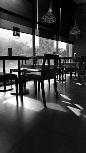 Blackandwhite Photography Architecture Interior Style Waiting Light In The Darkness