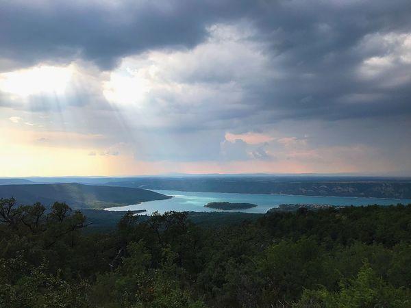 Lac de Sainte Croix Cloud - Sky Sky Water Cloud - Sky Sky Water