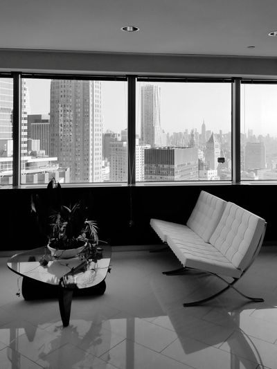 Window Architecture Home Interior Luxury Cityscape City Modern Indoors  Skyscraper No People Home Showcase Interior Apartment Day Water Urban Skyline New York City New York Black And White Friday