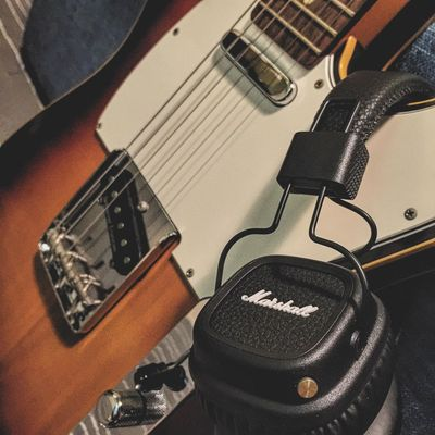 Guitar 吉他 Telecaster Marshall