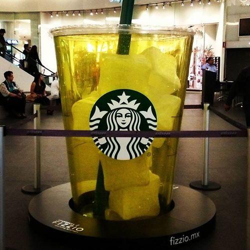 Quiero uno de esos!!! Drinkme Reforma Fizzio Starbucks Cdmx Mextagram