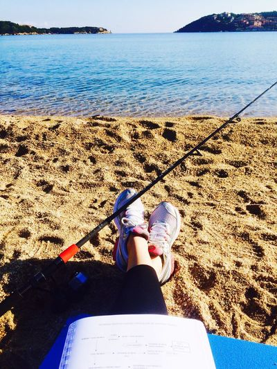 Happiness Sardinia Fishing Studying what else? Pricelessmoments  Love ♥ And I'm feeling good !