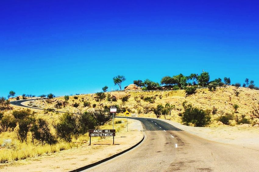Spiral Road Landscape Enjoying The View EyeEm Best Shots Australian Outback Picoftheday Roadtrip Desert Hello World