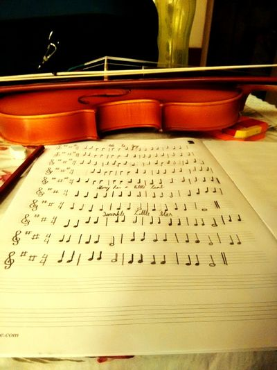 Better Together Violin And Manuscript Violin Manuscript Art Life Bang On Target