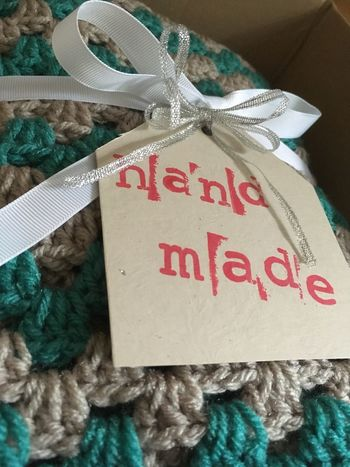 Packaging Package Handmade Crochet Blanket Crochet Gift Tag Ribbon Box Open Book  The Week On EyeEm