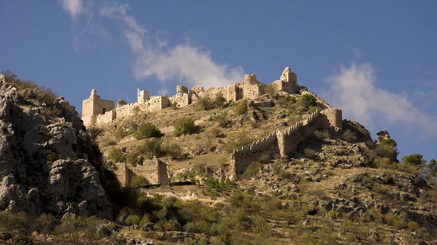 Architecture Beauty In Nature Castillo Castillo De Moclin Castle Granada Moclin