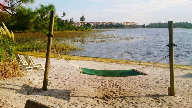 Sand Tree Sunlight Shadow Outdoors Beach Water Sky Nature Day No People Relaxing Relaxing Time Beach Time Hammock Orlando Florida Kissimmee
