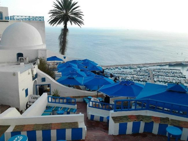 Tunis Sidi Bou Said Cafe Delice