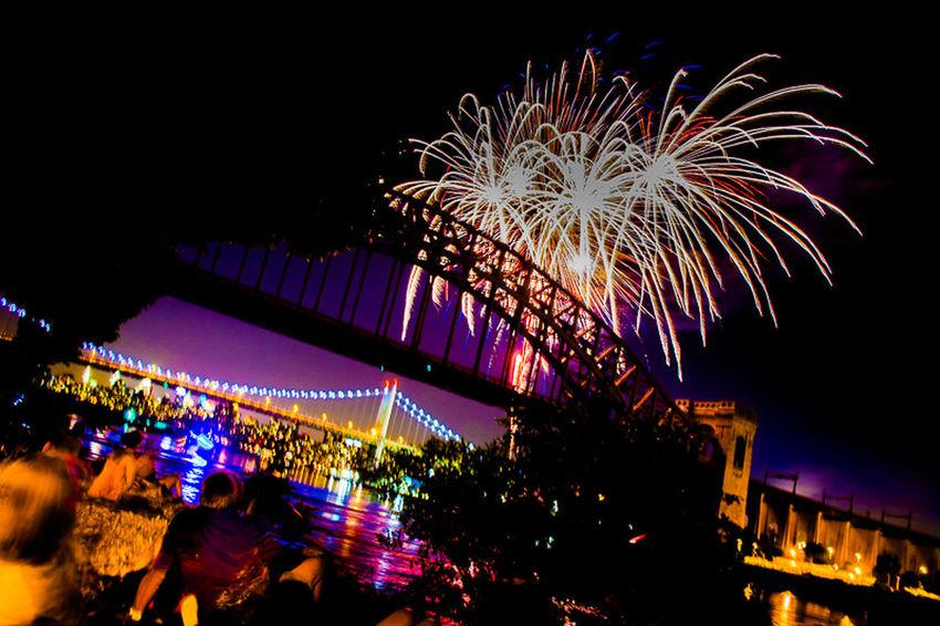 Hells Gate Bridge Astoria, Queens Streamzoofamily Fireworks