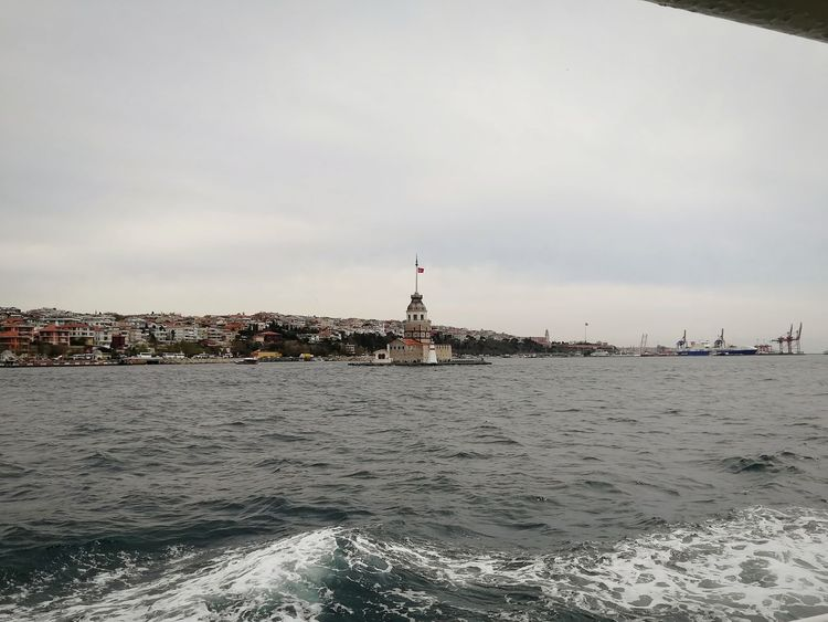 Tourism Travel Destinations Konstantinapolis Sarıyer Istanbul Turkiye Turkey Uskudar Uskudarkizkulesi