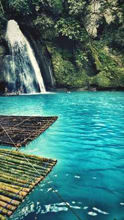 KawasanFalls Water Cebu Falls Philippines Bamboo Bamboo Rafting Rafting Bamboo Rafts Beautiful
