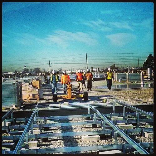 The boys at work. Resco Renewableenergy Rescoenergy