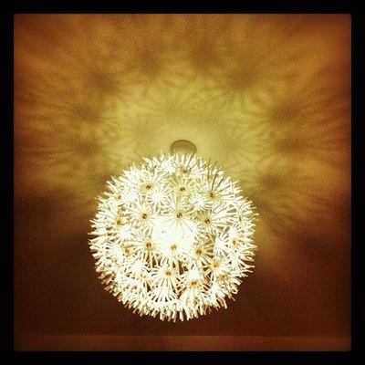 Die halbe Welt hat diese Lampe, aber ich liebe sie einfach! #pusteblume #ikea IKEA Pusteblume