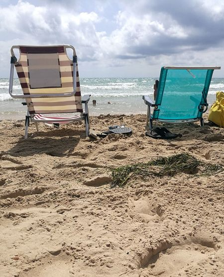 Seats Chair Beach Chairs Beach Chair SPAIN Summer Summertime Sea Beach Sand Water Summer Sky Horizon Over Water Cloud - Sky Folding Chair Summer Exploratorium Summer Road Tripping