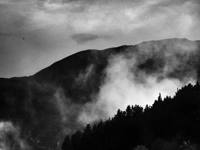 My Winter Favorites Misty Mountains of Crete Cretan, Crete Chania Greece Mountain Mountains Sky Skyporn Sky And Clouds Cloud Clouds Clouds And Sky Cloudporn Cloudscape Bw Bwphotography Bw_collection Blackandwhite Landscape #Nature #photography Landscape_photography Landscape Landscape_Collection
