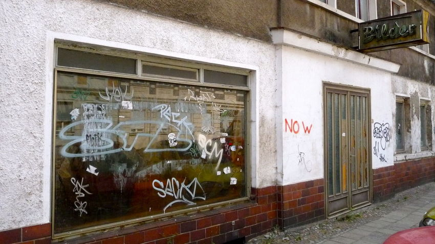Architecture Brandenburg Building Exterior Built Structure Closed Day Destroyed Door Graffiti No People Ruin Ruine Ruins Schaufenster Symbol Turkey Urban Verfall Wall Wall - Building Feature Here Belongs To Me