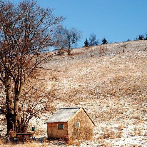 The lost cabin near the Woods . . .Mik Nikon Bucin Harghita Romania Transylvania Travel Roadtrip Snow Ig_today Ig_europe Ig_romania Ig_worldclub Photooftheday Picoftheday