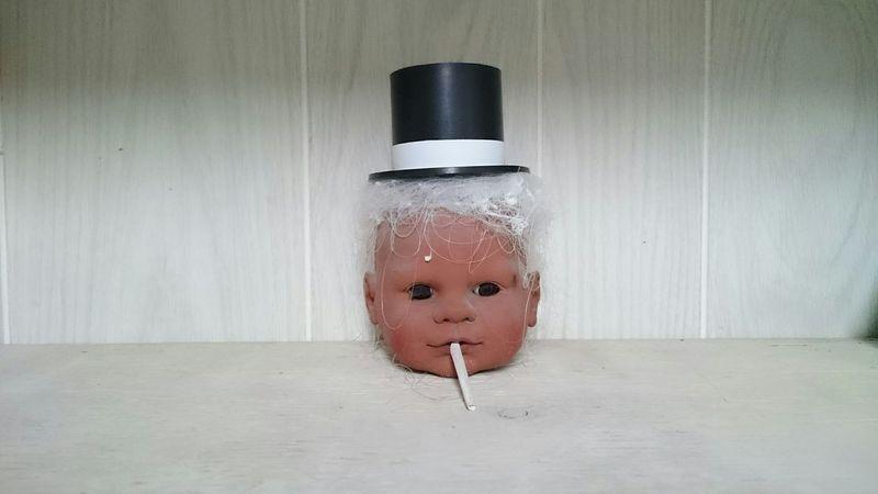 Work Babies Creepy Fancy Top Hat