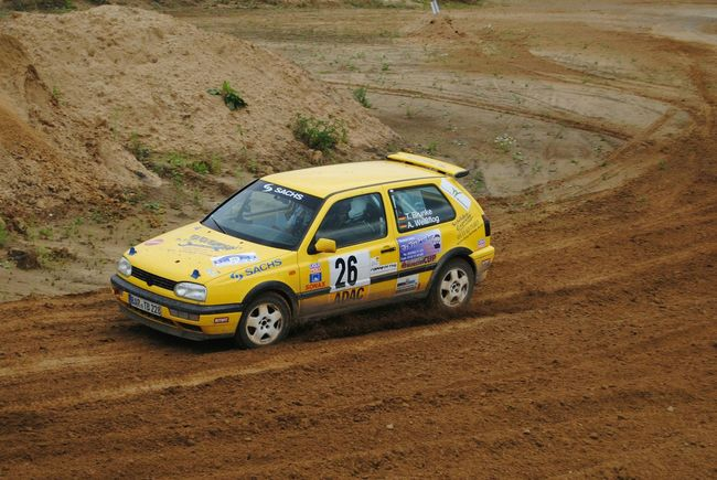 Rallye Golf 3 High Angle View Sand No People Land Vehicle Transportation Race Racecar Rally Rallye 4x4 Hannover Wedemark Rallye Car Leisure Activity Eye4photography  EyeEm Best Shots 2017