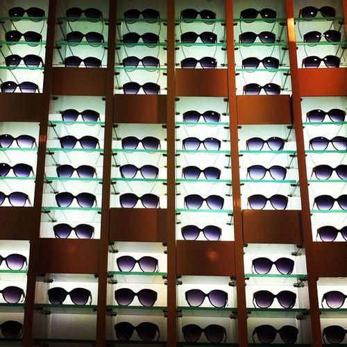 Wall of shades