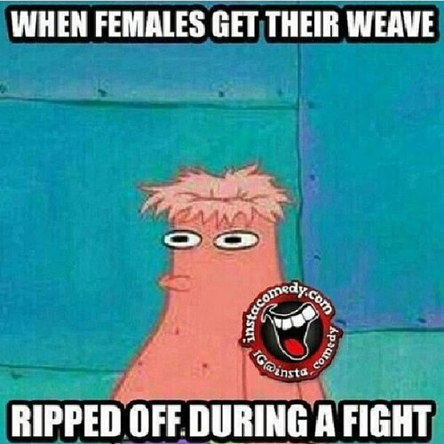 Haha true! Females Weave Rippedoff Duringafight lmao TagsForLikes instahysterical tweegram