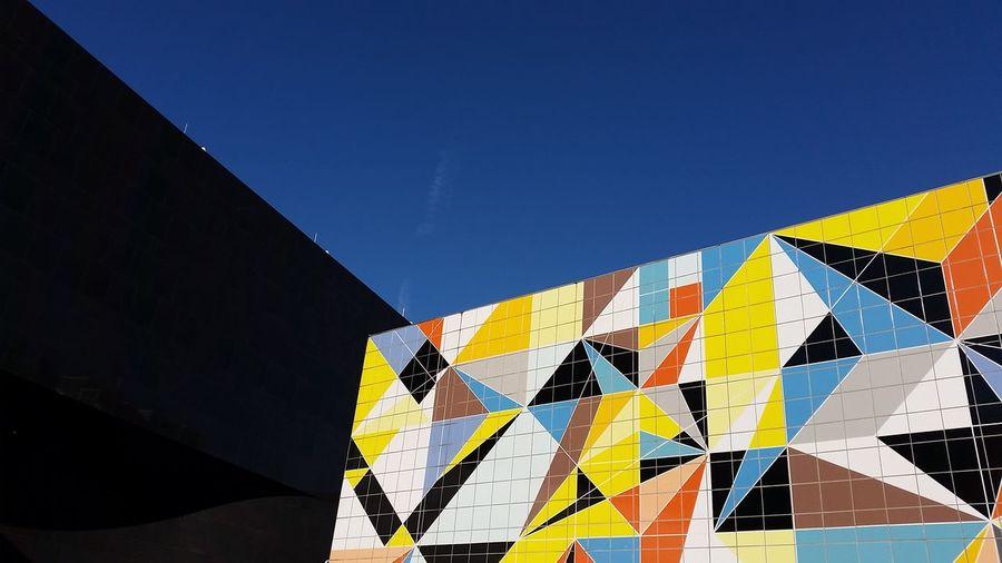 Düsseldorf Colorful Colors Modern Architecture