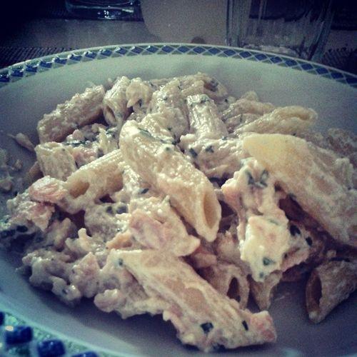 Pastaalsalmone Panna Salmone Prezzemolo vodka mangietiubriachi