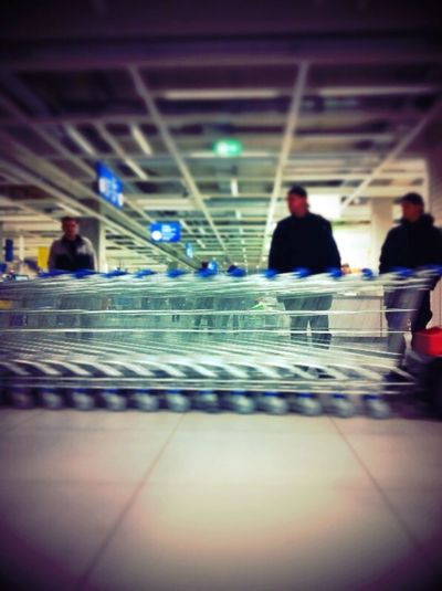 Stahlsoldaten at IKEA Stahlsoldaten