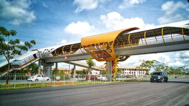 The Architect - 2017 EyeEm Awards Architecture Bridge - Man Made Structure Bridge Sarawakmalaysia Sarawak Sarawak Malaysia Day Color Sky Built Structure