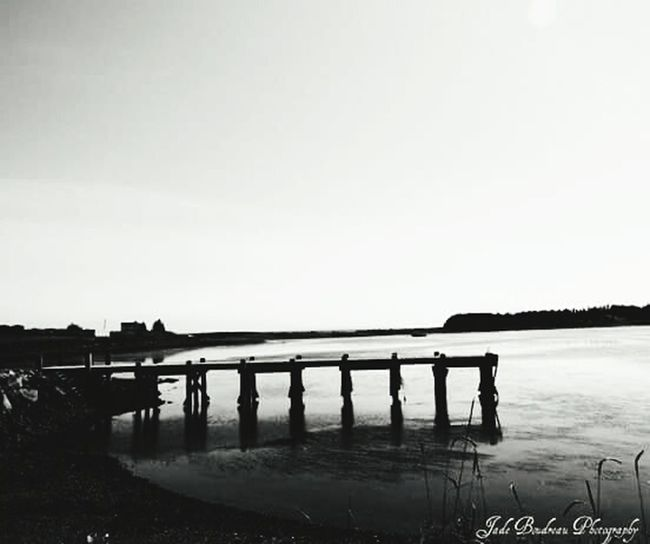 Warf in the bay in Arichat, Cape Breton Travel Photography