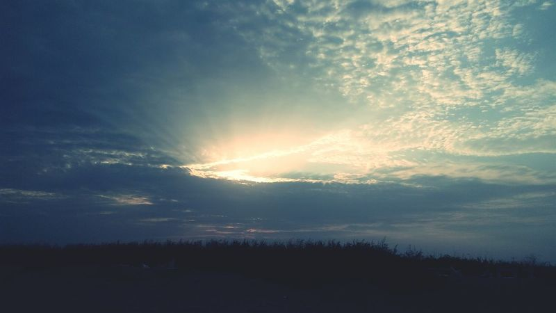 Sky And Clouds Beachphotography Yanam Naturephotography Eveningsky