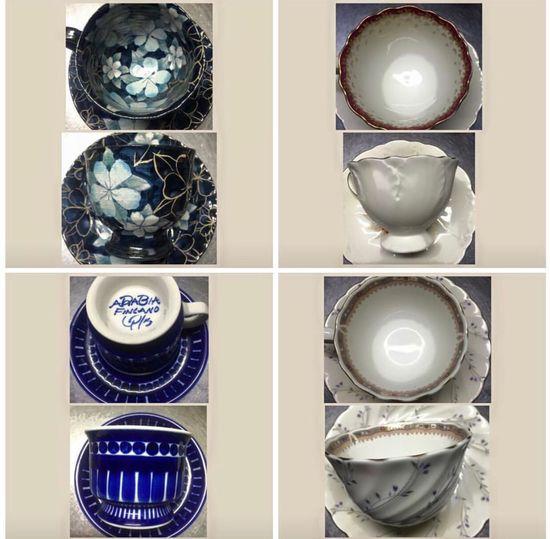 私のお気に入りのコーヒーカップ☕️My favorite coffee cup😊I was collecting✨ Collection Coffee Cups Japan Iphone7 Love Behappy No People Collage 福岡県 今晩は お疲れ様 コーヒーカップ Plate Group Of Objects Shiny アラビア フィンランド お気に入り