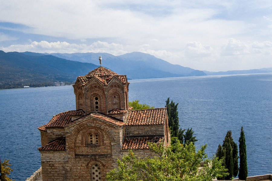 Building Exterior Macedonia Ohrid Ohrid Lake Ohrid Macedonia Orthodox Orthodox Church Scenics Tranquil Scene
