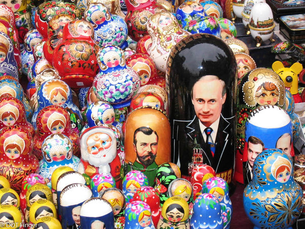A Day A Picture A Story - 11th of November - Moscow (Russia) : Who's the Boss? even in the Russian dolls world Adult Adults Only Business Celebration Choice Close-up Day Front View Multi Colored One Person Only Women Outdoors People Poutine Russian Dolls Tradition Variation