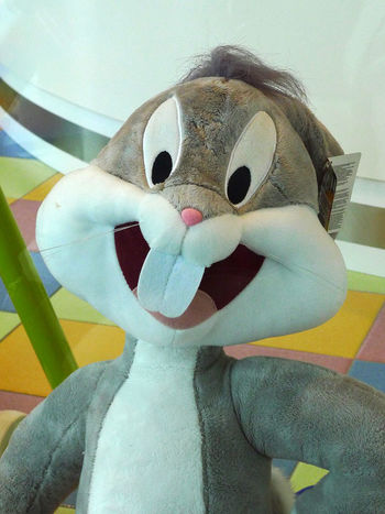 Animal Representation Bunny Rabbit Childhood Close-up Clown Cuddly Toy Day Humor Indoors  One Person Paper People Real People Soft Toy Stuffed Toy Toy EyeEmNewHere Sommergefühle