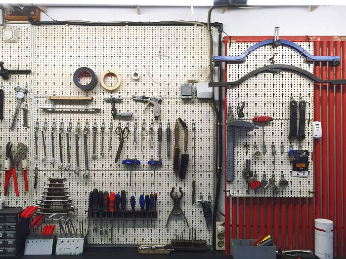 Everything In Its Place Things Organized Neatly Maintenance Getting Spare Parts Pit Stop Ride Or Die Bikes Workshop