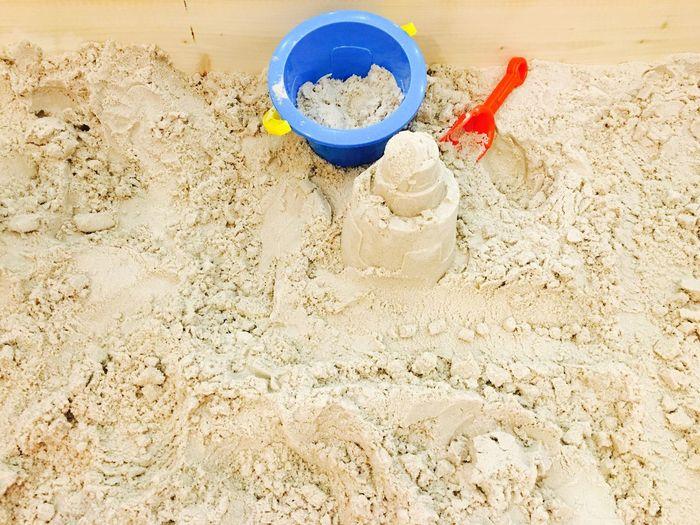 Food on sand