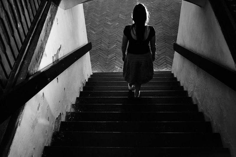 CHURCH CREATURES: She was instructed to go there, so she went, without thinking about consequences. Znojmo Life Scary Mystory VSCO Czech Republic Liveauthentic Vscocam Portrait Mood Woman First Eyeem Photo Blackandwhite Church Followfriday