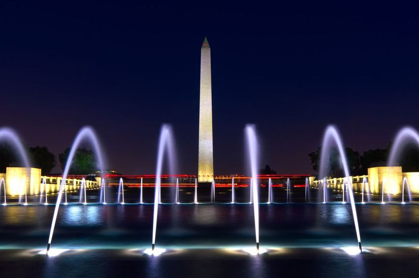 EyeEm Selects Night Illuminated Architecture Built Structure Travel Destinations Washington, D. C.